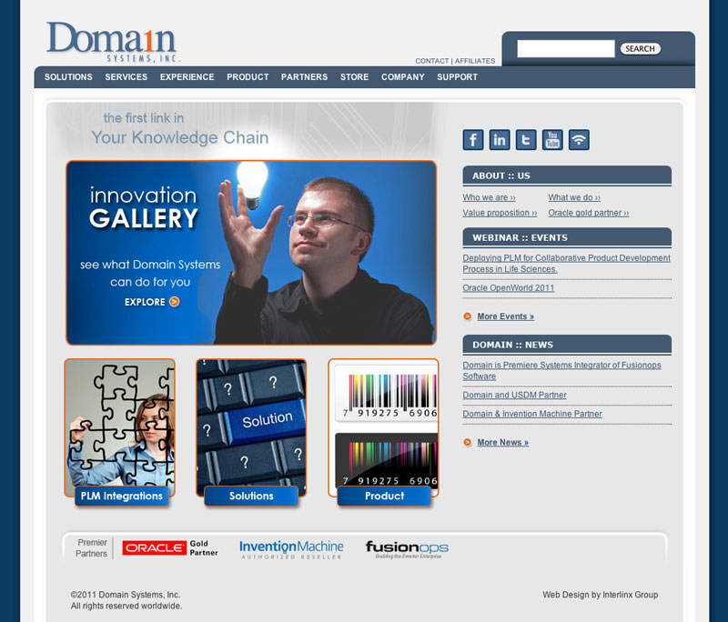 Domain Systems Web Design